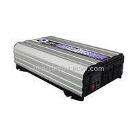 12VDC to 220VAC 500W output power Car inverter with Built-in USB Port and Aluminum Housing Design