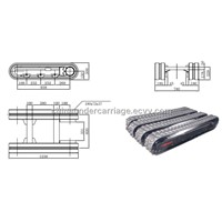 1 Ton Rubber Track Undercarriage Manufacturer