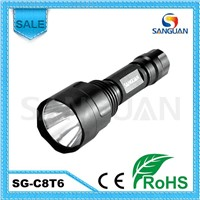 2013 Cree T6 LED Lamp 1000lm Powerful Police Light Flashlight