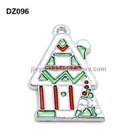 2013 hot sell christmas snowhouse pendant wholesale