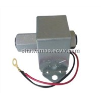 24V/12V electronic vehicle fuel pump