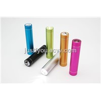 2800mAh Cheap Hot Sale Lipstick Mobile Power Bank for Smart Phone with ROHS and CE