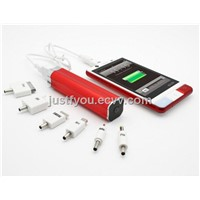 2800mAh Emergency Portable Charger Mobile Power Bank for iPhone Android Phone
