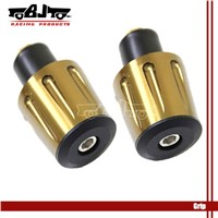 2x 7/8 BRONZE 22mm Motorbike handle bar end For Honda Yamaha Suzuki DIRT ATV