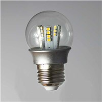 3014 2.4W LED bulb energy-saveing warm white incandescent replacement lamp