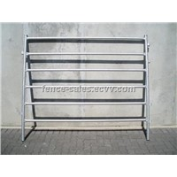 32mm Steel Tube Hot Dipped Galvanized Horse Panels