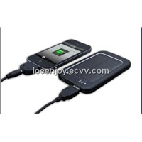 3600mAh manufacturer price solar power bank battery charger