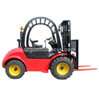 3.0 ton rough terrain forklifts
