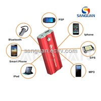 5600mah Universal Portable Battery Power Bank for Mobile/ iPhone / iPad / GPS