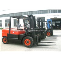5 Tons Diesel Powered Forklift CPCD50FR