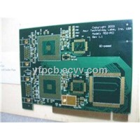 6 Layers Gold Finger PCB