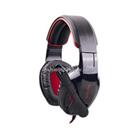 7.1 sound effect Gaming headset with 40mm loudhailer