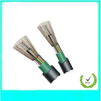 Aerial/duct type single jacket fiber optic cable GYTS
