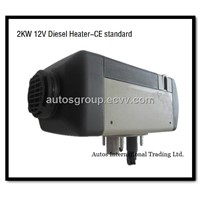 Air Parking Heater(2KW 12V/24V Diesel/Gas) Similar with Webasto heater (info at autosheater dot com)