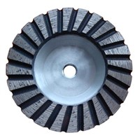Aluminium back diamond grinding cup wheel