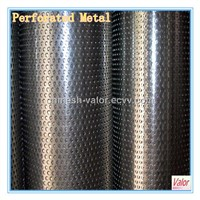 Aluminum Perforated Metal Plate (factory)