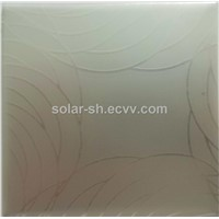 Anodized Aluminium with pattern or design