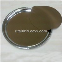Anti-slip tray with silicone mat