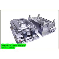 Auto part front door frame finisher plastic injection mould