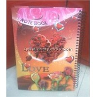 B4 spiral hardcover notebook for arabic country