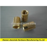 Brass nuts cnc milling and tapping