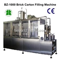 Brick Carton Beverage Filling Packaging Machinery (BZ-1000)