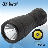 Brinyte Aluminum CREE LED Underwater 4 hours 150m Professional Diving Flashlight BR-DIV03