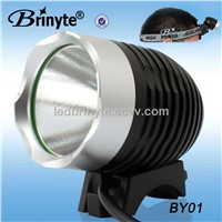 Brinyte Rechargeable High Power CREE XML U2 LED Helmet Bicycle Light