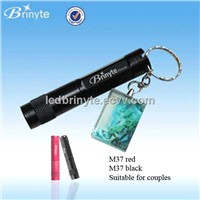 Brinyte Waterproof Aluminum Mini Keychain Compact LED Flashlight