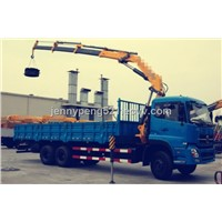 CHINA  MACHINERY  KNUCKLE BOOM TRUCK CRANE 10TON SQ10ZK3Q