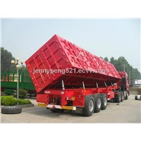 CHINA SINOTRUCK SIDE DUMPER TRUCK TRAILER