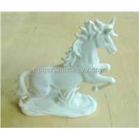 Ceramic Equestrian Trophy, Horse Racing Trophy,Animal