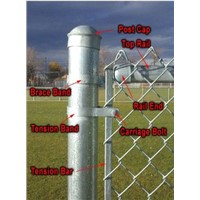 Chain Link Fence Element