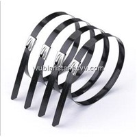 Coated Stainless Steel Cable Tie / Ball-Lock Tie