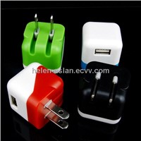Colorful Wall Charger US Mains (WP-005)