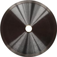 Continuous rim diamond blades