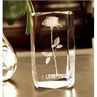 Crystal Crafts; 3D Crystal Gifts (Blank or Engraved)