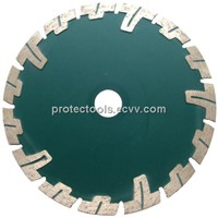 Deep teeth diamond blade
