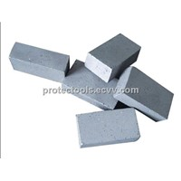 Diamond segment  for sand stone