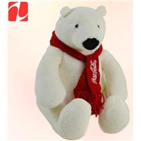 Disney audited manufacturer in China custom plush polar bear