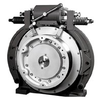 Drum Brake Pm Gearless Traction Machine