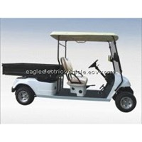 Electric utility car with long cargo box EG2048HCX
