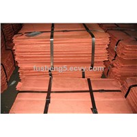 Electrolytic copper cathode Grade A Cu 99.99%