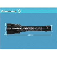 Factory Price Rechargeable 3Cree T6 High Power Flashlight