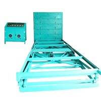 Five layers glass laminating machine