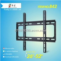 Fixed fashionable plasam lcd tv wall mount