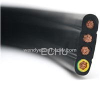 Flat Travelling Cable for Elevator (H07VVH6-F 16 Cores)