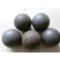 Grinding Chrome Steel Balls with Oil Quench