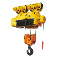HC08/16/25 large capacity electric wire rope hoist