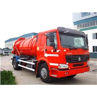 HOWO 10M3 Garbage Suction Truck